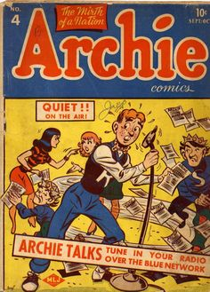 The original Archie #4 (1940s)