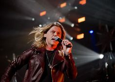 Conrad Sewell performs on stage at the Y100 JingleBall 2015 concert at the BB&T Center on December 18, 2015 in Sunrise, Florida. Photo by Gary I Rothstein/UPI