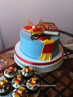 Harry Potter Wedding Cake | Harry Potter Cake | Sweet Discoveries