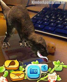 """DinosaurAR"" Augmented Reality App"