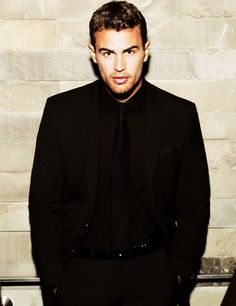 """theo james...the only reason I bought """"Divergent.""""  Totally worth it."""