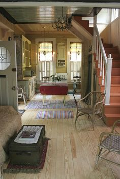 This Tiny house feel like Scott cottage Tiny House Movement, Cabins And Cottages, Small Cottages, Tiny House Living, Cottage Living, Cottage House, Cozy Cottage, Small Living, Cottage Style