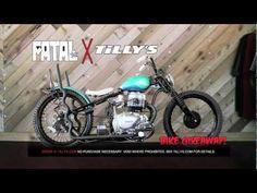 Tillys x Fatal Bike Giveaway Winner! #motorcycle #bike #bobber #chopper #fatal #tillys