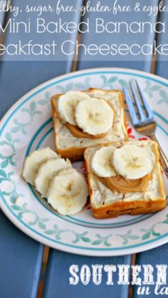 Healthy Baked Banana Cheesecake#Recipes#Trusper#Tip