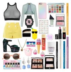 """Sin título #330"" by frichu on Polyvore featuring moda, Dsquared2, Boutique Moschino, Mulberry, ZeroUV, Casetify, Deborah Lippmann, Sephora Collection, Too Faced Cosmetics y Sisley"