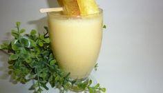 Smoothie à la mangue et aux ananas