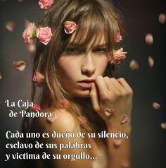 Cada uno es dueño de su silencio...