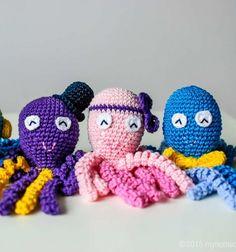 Korip - horgolt polip koraszülött babáknak (horgolásminta) - Mindy / Mindy -  kreatív ötletek és dekorációk minden napra