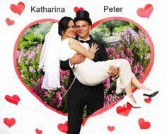 Hochzeitsspiele - Hochzeitsspiel - Hochzeitsherz (2x1,80 m)
