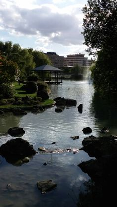 Parque de Yamaguchi, Pamplona, España