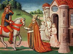 Charlemagne and Pope Adrian I - Horses in the Middle Ages - Wikipedia, the free encyclopedia