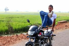 Really, don't try this at home:  #Daredevil nails expert #yoga poses on speeding #motorcycle