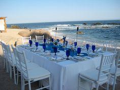 Dinner on the #beach