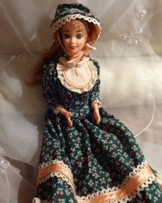 1994 American Stories Pioneer Barbie Doll by AnnsToysNTreasures, $20.00