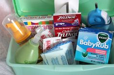 Baby First Aid Box