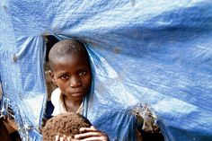 A school for internally displaced persons in the DRC.
