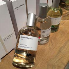 Miller et Bertaux fragrances collection and the new home fragrances collection