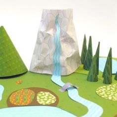 Mr. Printables - Excellent collection of creative teaching ideas!  My Paper World – Wild Green
