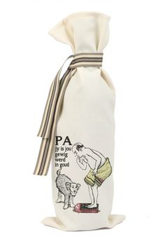 WINE BAG: A meal without Wine is called breakfast - Pretti Cool Gifts Gift Bags, Little Gifts, Wine, Fashion, Moda, Fashion Styles, Goody Bags, Stocking Stuffers, Treat Bags