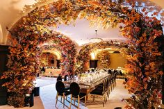 A Fall decor event Design and produced by Thomas Bui Lifestyle