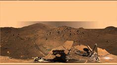 Spirit Mars Rover  'McMurdo' Panorama  in 360°
