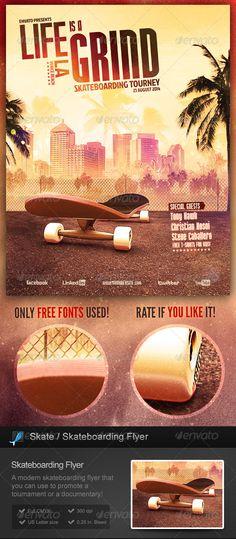 http://graphicriver.net/item/skate-skateboarding-flyer/7021229?ref=StormDesigns