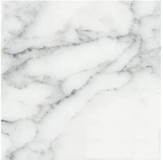 "Carrara (Carrera) Venato Marble 12x12"" Honed Floor and Wall Tile"