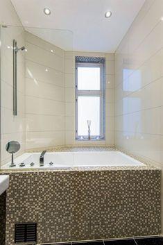 Before // after - bathroom - LENE ORVIK Bathroom, Bathtub, Corner Bathtub, Alcove