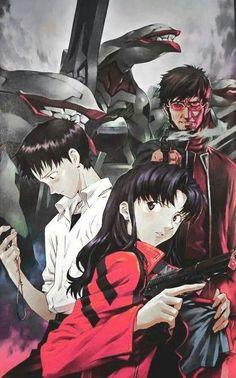 Evangelion - Yoshiyuki Sadamoto