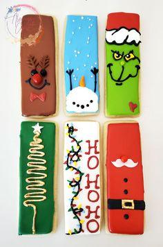 Cute Christmas Cookies, Christmas Cake Pops, Christmas Food Gifts, Easter Cookies, Fun Cookies, Holiday Cookies, Cupcake Cookies, Christmas Desserts, Christmas Baking