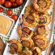 Meat lovers, this is your appetizer recipe. Everyone will gather round for this two-protein feat on a stick! Get your favorite dipping sauce (we love the spicy stuff) and enjoy your quick and easy starter recipe with your nearest and dearest.