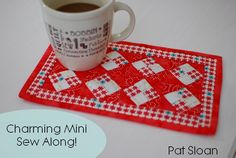 Charming Mini Sew Along, it's a darling free pattern!