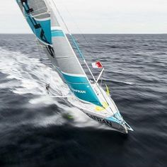 IMOCA60 Safran testing for the 2016 edition of the epic Vendée Globe!