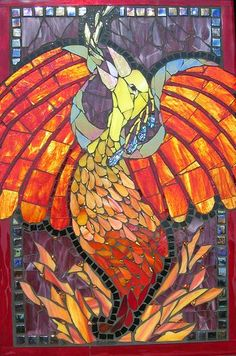 Simply Red Postcard – Contemporary Mosaic Art Ciel Gallery is located at 1519 Camden Road, Charlotte, NC. The Simply Red Exhibition runs December 5 – 26, 2008. Ginger Terry, Galena Cr…