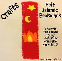 Karima's Crafts: Islamic Bookmarks - 30 Days of Ramadan Crafts