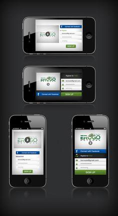 Erogo Network by Lion Nook, via Behance