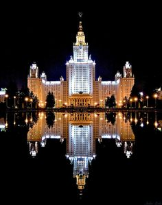 Moscow State University, Russia--Lomonosov Moscow State University, previously known as Lomonosov University or MSU, is the oldest and largest university in Russia. Founded in 1755, the university was renamed in honor of its founder, Mikhail Lomonosov, in 1940. It also claims to have the tallest educational building in the world. Its current rector is Viktor Sadovnichiy.