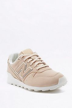 "New Balance – Ledersneakers ""996"" in Beige"