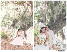 red apple tree photography: Brittney + Alan Wedding, Club Creek at I'On, Charleston SC