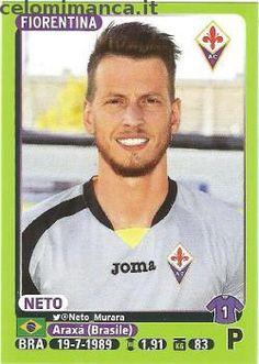 Calciatori 2014-2015: Fronte Figurina n. 135 Neto