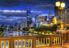 South Bank, Yarra River, Melbourne, Australia. The worlds most liveable city!