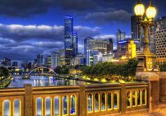 South Bank, Yarra River, Melbourne, Australia. The worlds most liveable city!