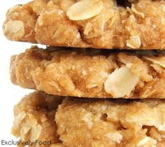 Exclusively Food: Anzac Biscuits Recipe