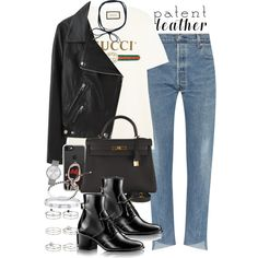 Sin título #4259 by hellomissapple on Polyvore featuring polyvore, fashion, style, Gucci, Acne Studios, Hermès, Miss Selfridge, Marc by Marc Jacobs, Cartier and Michael Kors