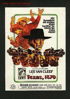 Lee Van Cleef Western Movies | ... 1870 (Lee Van Cleef) (western) (Cine - Folletos de Mano - Westerns