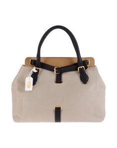 FENDI - Large leather bag
