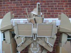 - News - GeekTyrant Cardboard Robot, Optimus Prime, Robot News, Robots, Birthday Ideas, Creatures, Cosplay, Costumes, Halloween