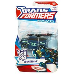 Transformers Animated Deluxe Deception Soundwave 83627 * For more information, visit image link.Note:It is affiliate link to Amazon.
