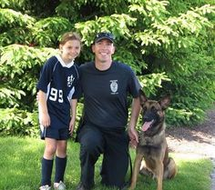"""""""[...] instead of accepting gifts at her April 30 party the Palmer girl requested cash donations and help, and with a giant gesture from the Holyoke Rotary Club, has raised $950 for a protective vest for Holyoke Police Department dog Ryker."""""""