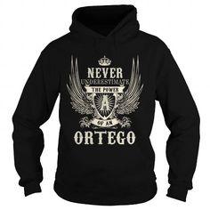 I Love ORTEGO ORTEGOYEAR ORTEGOBIRTHDAY ORTEGOHOODIE ORTEGONAME ORTEGOHOODIES  TSHIRT FOR YOU Shirts & Tees